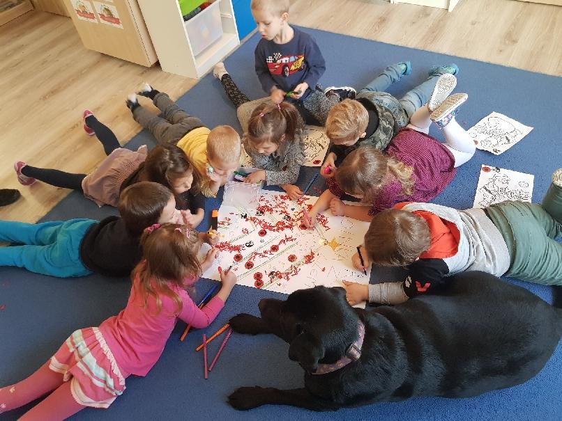 zajęcia dogoterapia przedszkole mistrzejowice
